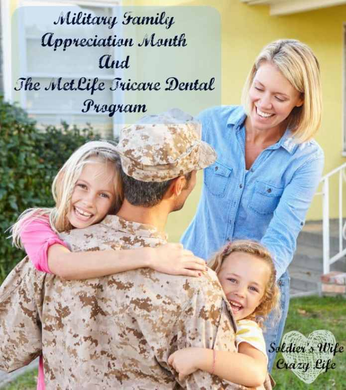 Military Family Appreciation Month And The MetLife Tricare Dental Program