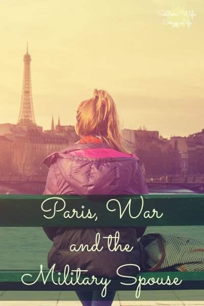 Paris, War & the Military Spouse