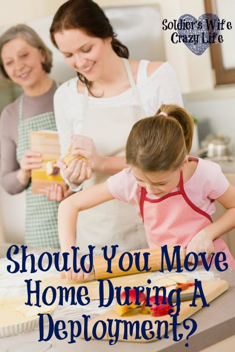 Should You Move Home During A Deployment?