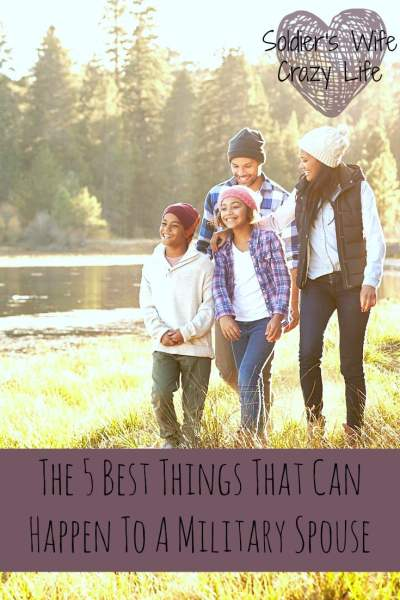 The 5 Best Things That Can Happen To A Military Spouse