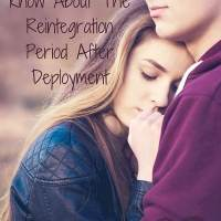 What You Should Know About The Reintegration Period After Deployment