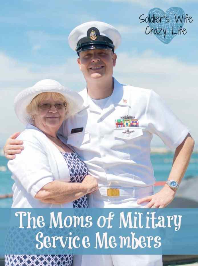 Moms of Military Service Members