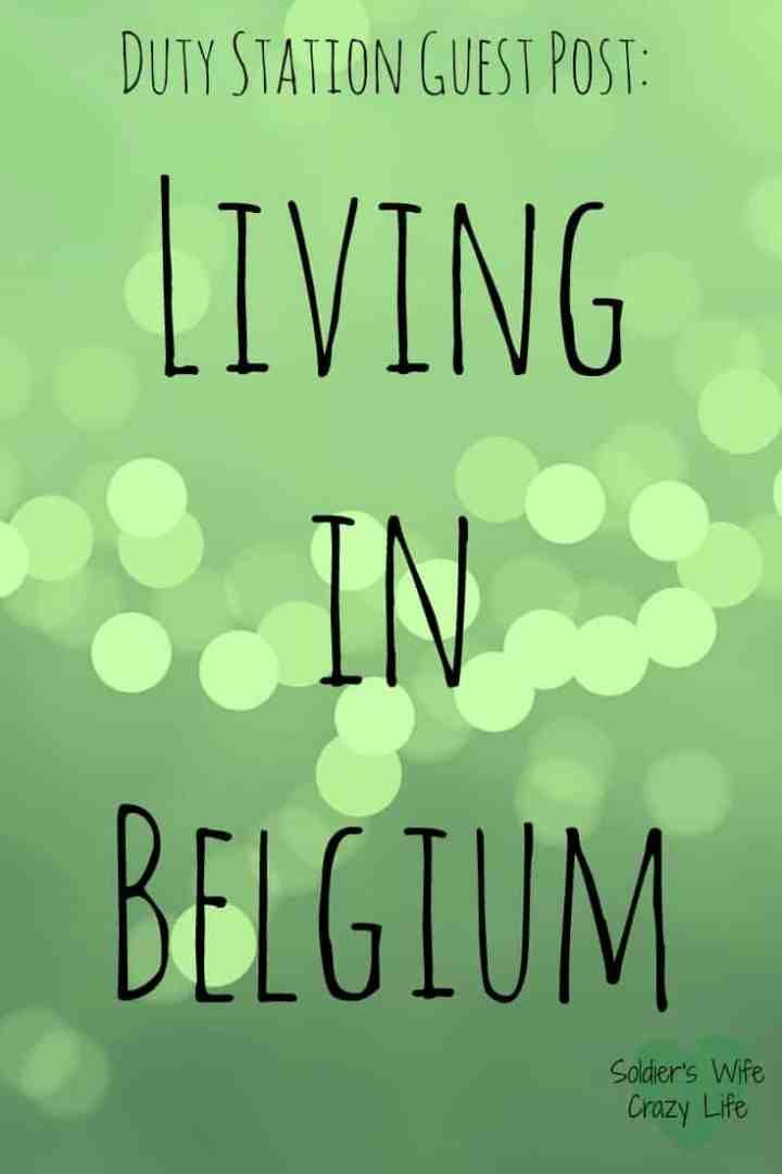 Living in Belgium