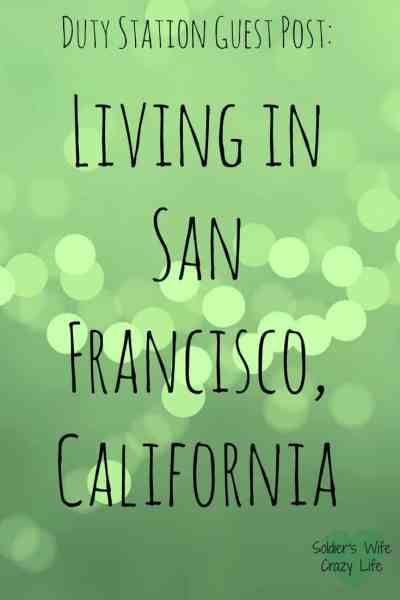 Living in San Francisco, California