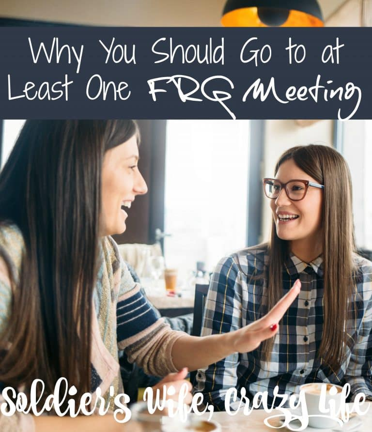Why You Should Go to at Least One FRG Meeting