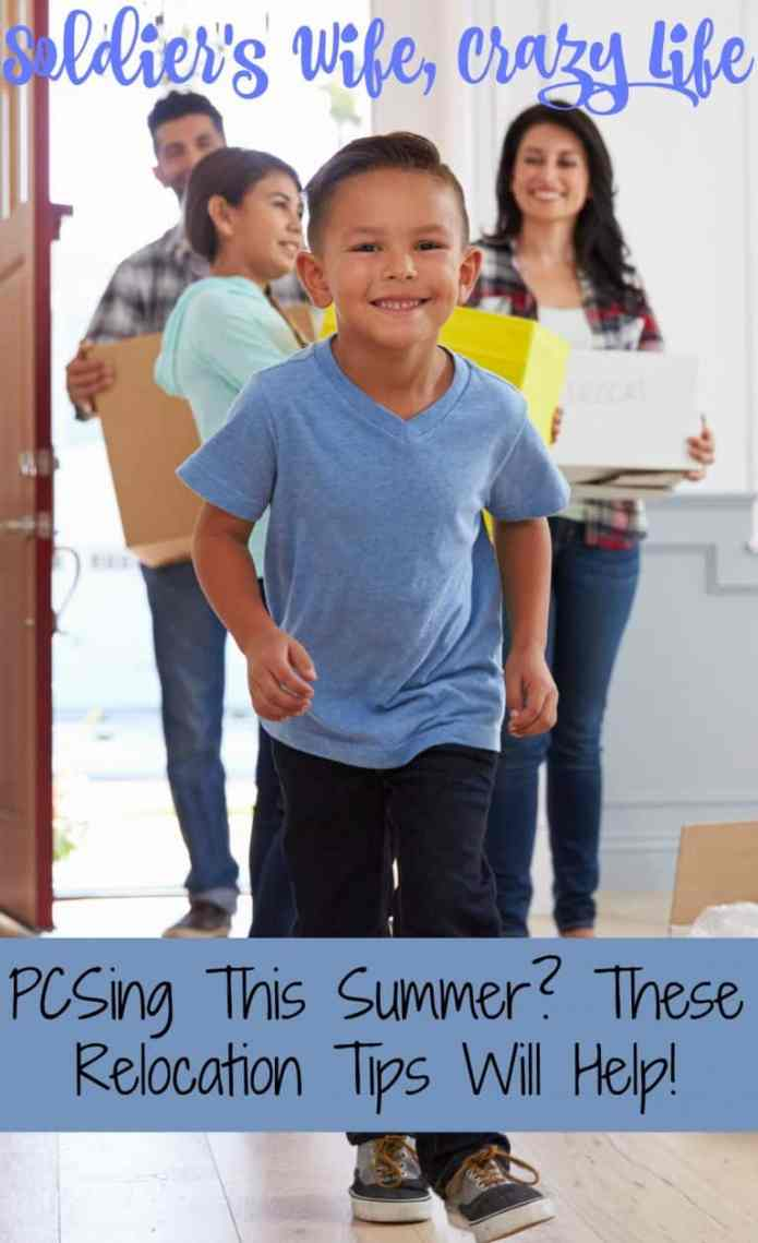 PCSing This Summer? These Relocation Tips Will Help!
