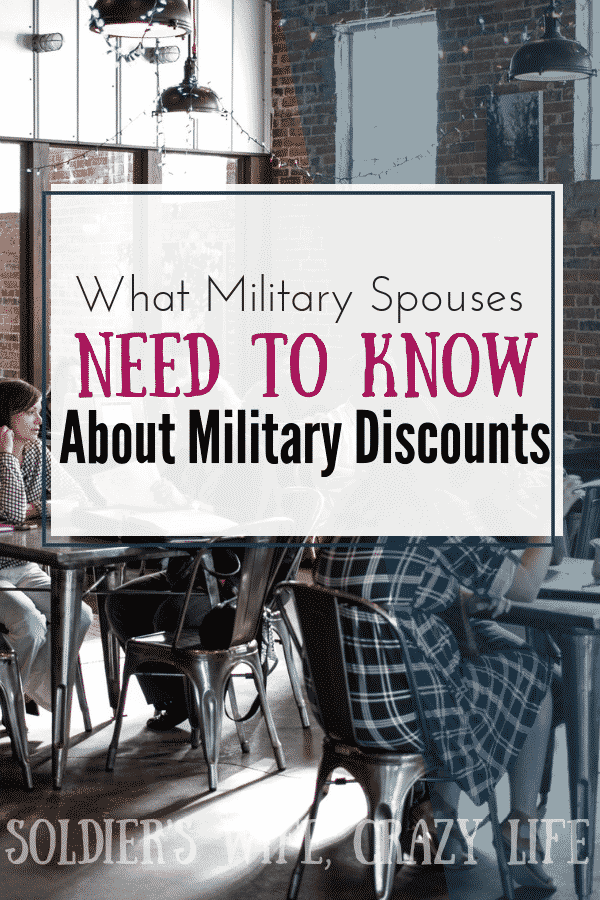 What Military Spouses Need to Know About Military Discounts