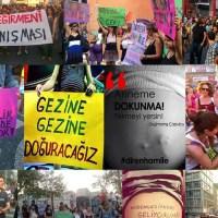 Protest der Schwangeren gegen die Aussagen des Rechtsanwalt und Sufi-Denkers Ömer Tuğrul İnançerr