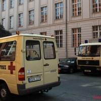 Flüchtlinge kommen in die Gotenburger Straße - Bürgermeister Hanke infomiert Bürger
