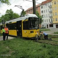 Zwei Tramunfälle in der Seestraße und Osloerstraße innerhab von vier Stunden