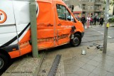 Tramunfall kleintransporter osloer ecke Prinzenallee (7)