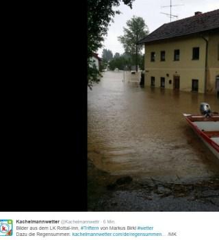 überschwemmung Inn Lankreis Rottal 2016 (6)