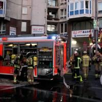 Kellerbrand im Wohnhaus Prinzenallee