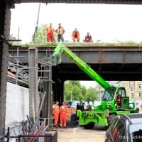 Bahnbrücke über Wollankstraße neu