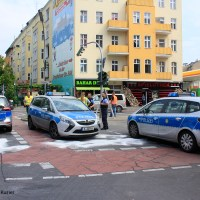 Schwerer Unfall mit mehreren Verletzten Kreuzung Prinzenallee Ecke Osloer Straße
