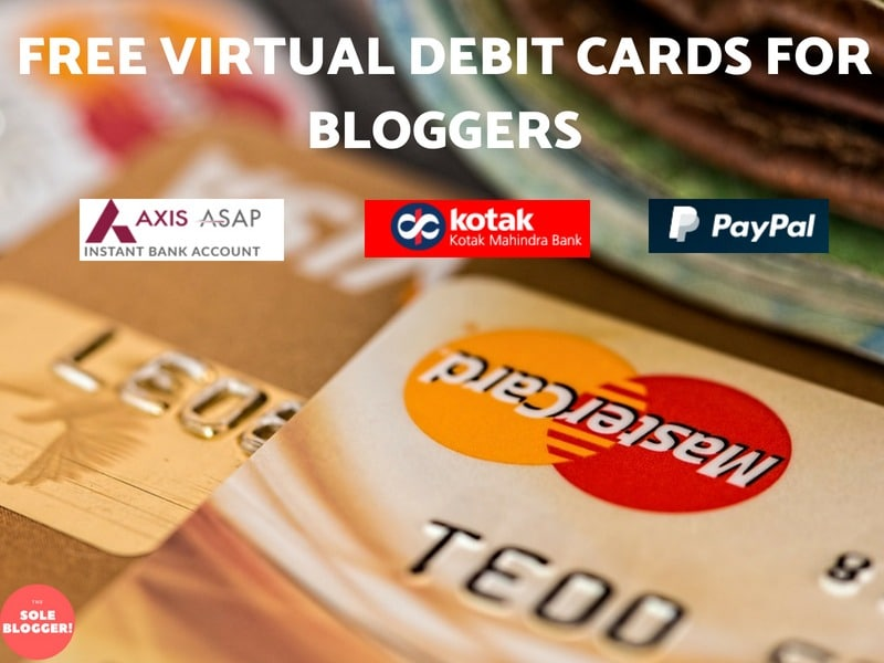 How to create Free virtual Debit card India for International