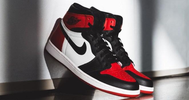 """4a480f9b0a7538 When the Air Jordan 1 """"Bred Toe"""" was announced last year"""