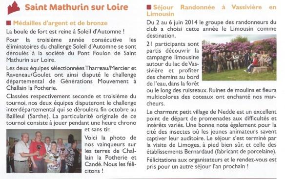 Génération mouvement n°69 automne 2014