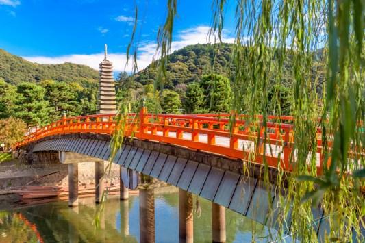 Uji, Kyoto ( Soleil Levant 75 )