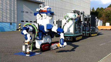 Robot d'exploration en zones contaminées