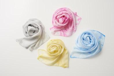 Kyoto Shibori Bikyo - foulard shibori DENSAN