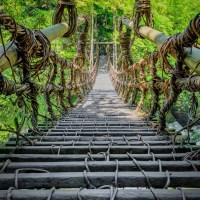 Shikoku, le pont kazura bashi, près de 800 ans d'histoire..