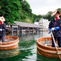Niigata, les tarai bune de l'île de Sado..