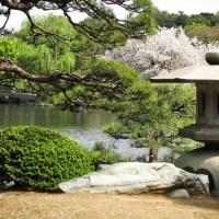 La lanterne, élément indispensable du jardin japonais.