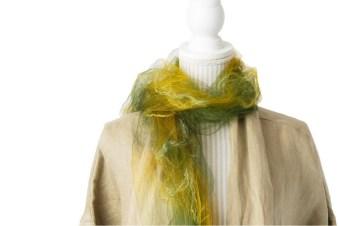 YASAI-ZOME KENKYUJO - foulard végétaux bio - Kurashiki Japan 2020 - bd