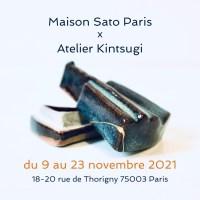 POP-UP STORE de Maison Sato Paris et un atelier de KINTSUGI du 9 au 23 novembre 2021 à Sway Gallery.