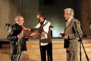 Rubino Rubini consegna il premio a m Bakri