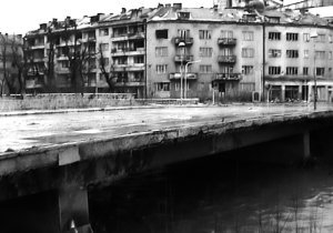Il ponte Vrbanja del film _Il ponte di Sarajevo_