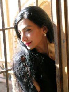 barefoot poetess Maram Al Masri