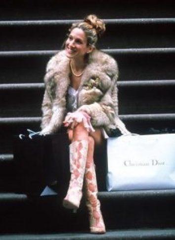 Carrie Bradshaw best shoe quotes