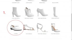 Step 1-Select Loafer