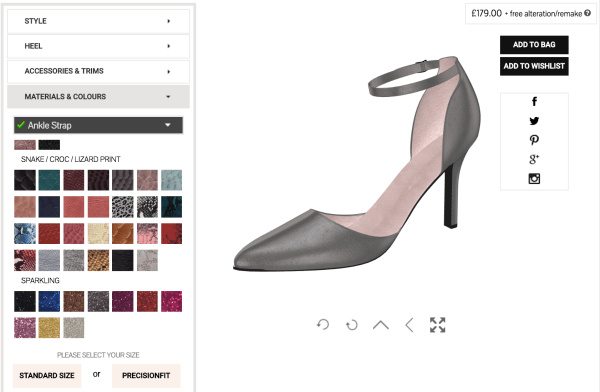 3D Designer For Bespoke Shoes
