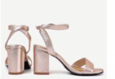 wedding block heels