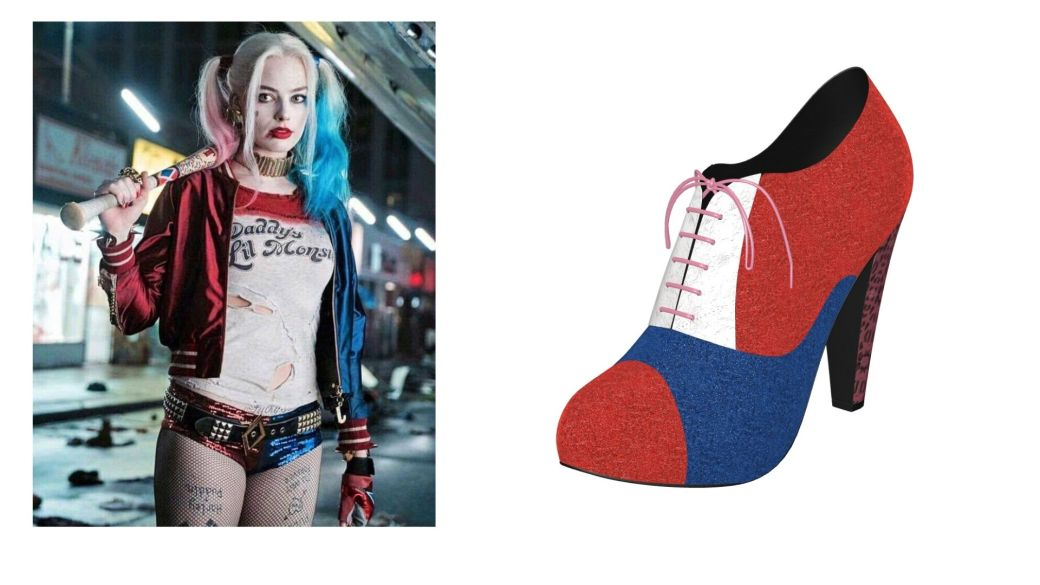 Harley Quinn Shoes