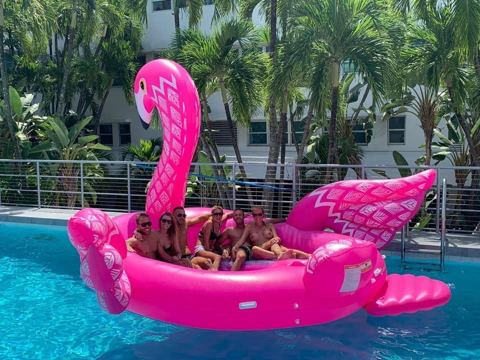 miami beach pool party
