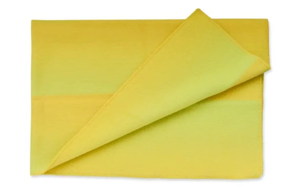 Berg Wolldecke Roros Tweed gelb
