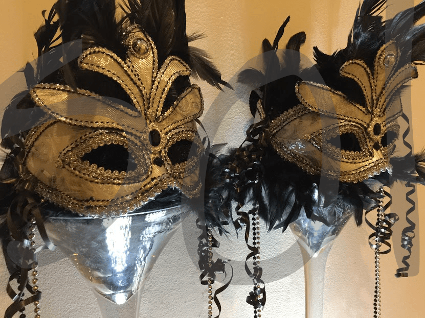 Masquerade Table Decoration Hire So Lets Party