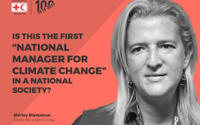"""Is this the first """"National Manager for Climate Change"""" in a National Society?"""
