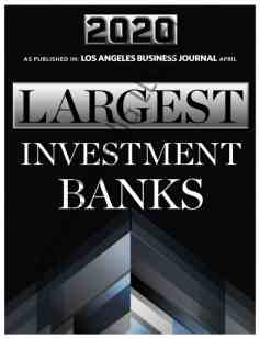 Largest Investment Banks in Los Angeles