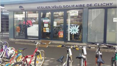 SoliCycle Clichy-la-Garenne ateliers vélo solidaire