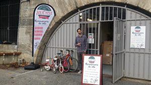 atelier vélo solidaire auto réparation SoliCycle Berges de Seine