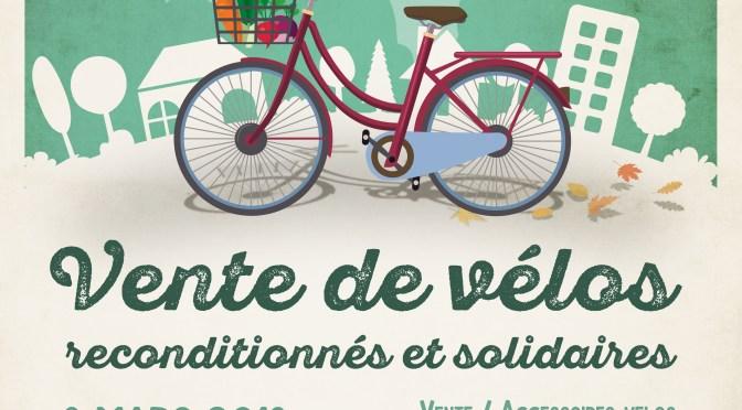 Vente de vélos sur le campus de l'ENSTA