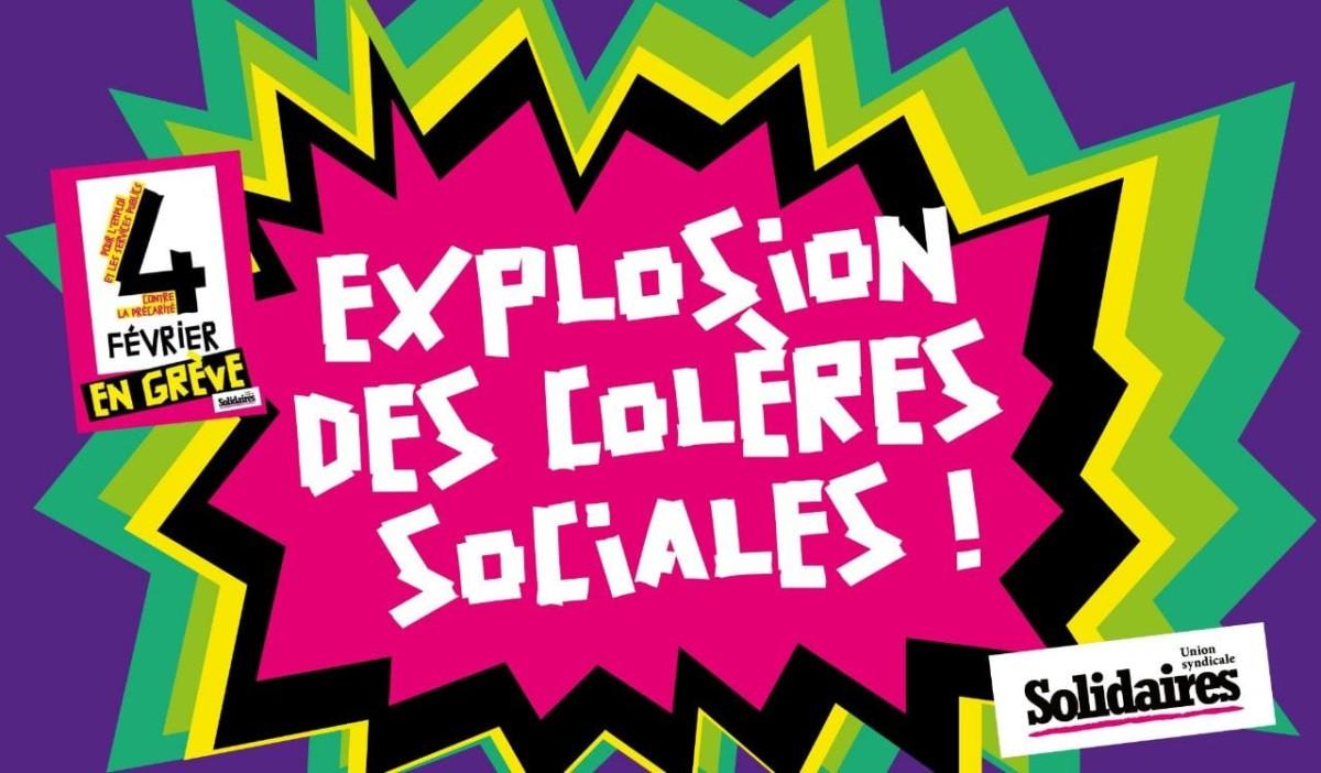 Le 4 février, en grève interprofessionnelle à Grenoble et en Isère comme dans tout le pays  ! Manifestation à 10h à la gare [appel et vidéos]