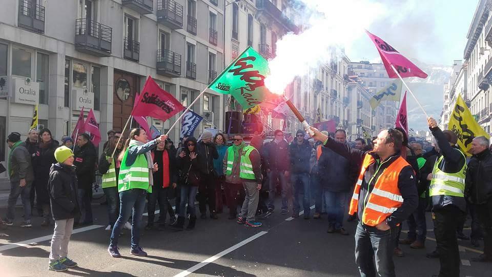 Victoire devant les Prud'hommes de Grenoble pour nos 7 camarades cheminots face à la répression managériale et à la discrimination anti-syndicale !