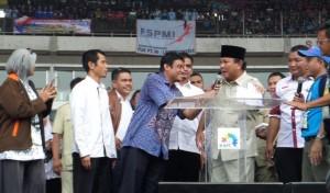 KSPI pendukung Prabowo