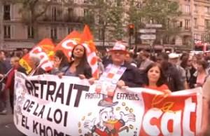 Buruh Prancis Boikot Tangki Minyak Tuntut Reformasi Ketenagakerjaan